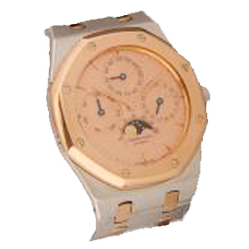 Gold Face Watch
